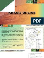 Khanij online chhattisgarh