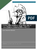 MALECKI Crisis, Radicalizacón y Política en El Taller Total