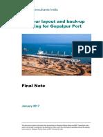 Final Note- Planning for Gopalpur 180120