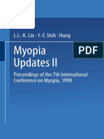 Myopia Updates II Proceedings of the 7th International Conference on Myopia 1998