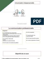 gestion de la communiication