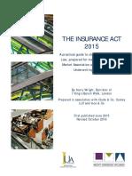 Insurance Act 2015 & Guidance
