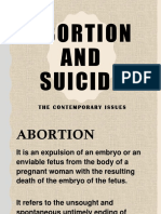 Ethics Abortion and Suicide