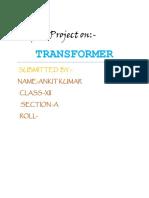TRANSFORMER PROJECT CLASS12.pdf