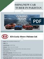 Automotive Industry Development in Pakistan