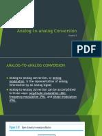 Analog to Analog Conversion