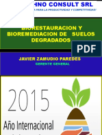 Biorestauracion y Bioremediacion de Suelos Degradados Javier Zamudio Paredes