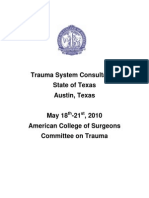 ACS Texas Trauma System Consultation Report_Final
