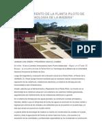 Mantenimiento de La Planta Piloto de Tecnología de La Madera