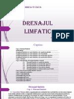 Drenaj Limfatic Suport de Curs
