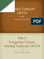Manhaj Tarbiyah 1433 H