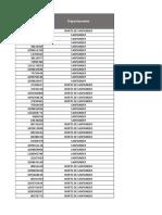 base de datos de una empresa