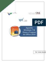 Apostila Windows7 Office2010 SoftwareOne IPT
