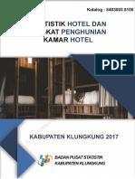 Statistik Hotel Dan Tingkat Penghunian Kamar Hotel Kabupaten Klungkung 2017