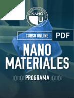 Programa Nanomateriales