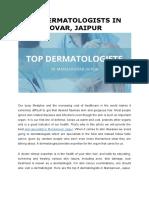 Top Dermatalogists in Mansarovar Jaipur
