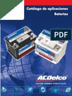 Catálogo de Baterías