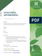 Analyzing Advertising 2013
