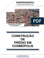 Construção de Prédio Em Cosmópolis