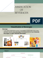 Classification of Beverages Topic 1