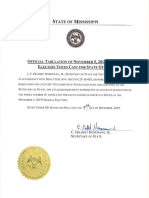 Statewide Certification of State Offices
