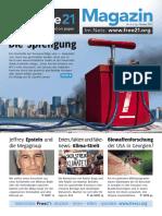 Free21-Magazin Oktober2019 Web