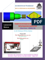 Cim Lab Manual Final
