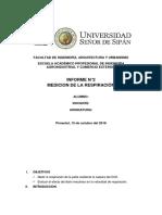 RESPIRACION DE FRUTAS AGROINDUSTRIALES