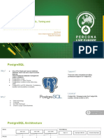 High Performance PostgreSQL, Tuning and Optimization Guide - FileId - 160682