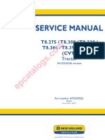 New Holland T6 - Service manual