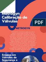 Metrogyn Calibração de Válvulas