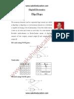 DigitalElectronics FlipFlops