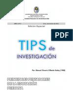 Principales Pensadores de La Educacion Peruana