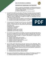 Ejercicios Propuestos de Operaciones Con Conjuntos
