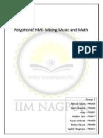 Polyphonic HMI- Mixing Music and Math