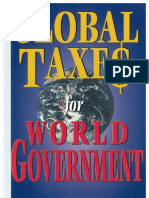 Global Taxes for World Government