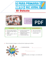 Concepto Del Debate Para Cuarto Grado de Primaria
