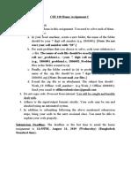 CSE 110 Home Assignment 2