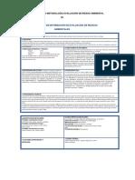 Aplicación Práctica Metodología Evaluación de Riesgo Ambiental