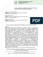 PERFIL DA AGRICULTURA ORGÂNICA NO BRASIL:UM OLHAR A PARTIR DOS DADOS DO CENSO AGROPECUÁRIO 2006