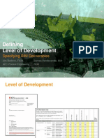 BIM Defining Level of Development