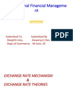 Exchange rate Mechanism& Theories.pptx