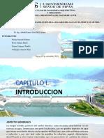 Presas de Embalse en La Escasez Del Agua e El Perú y El Mundo
