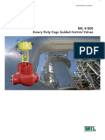 MIL 41000 New - Heavy Duty Cage Guided Control Valves