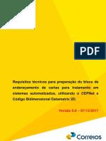 Guia Tecnico CepNet e Codigo 2D FAC SIMPLES Versao 0.6 de 07-12-2017