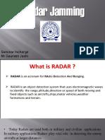 Radar Jamming