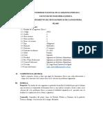 Sílabo Fisica i - Ing. en Industrias Alimentarias-jorge Sandoval