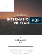 Cross Communication PR Plan