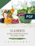 eBook 50 Alimentos Saudaveis