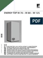 Boiler Ferroli W125